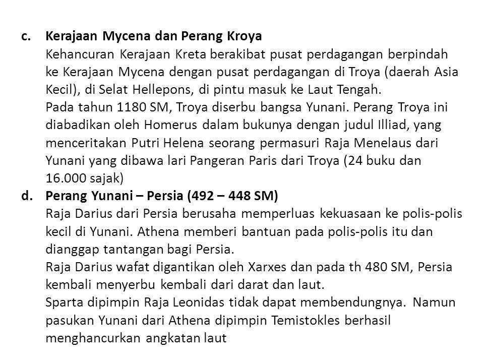 Kerajaan Mycena dan Perang Kroya