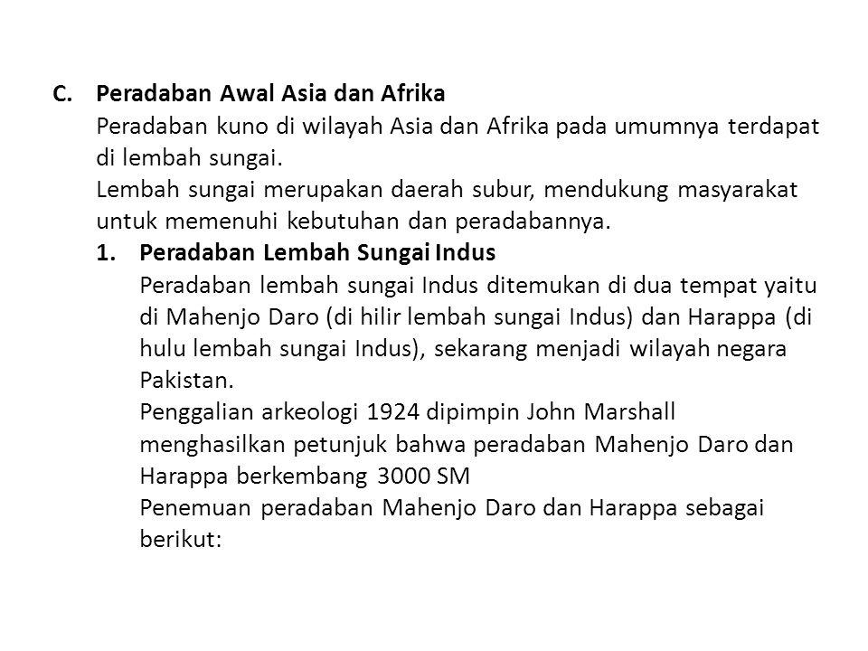 Peradaban Awal Asia dan Afrika