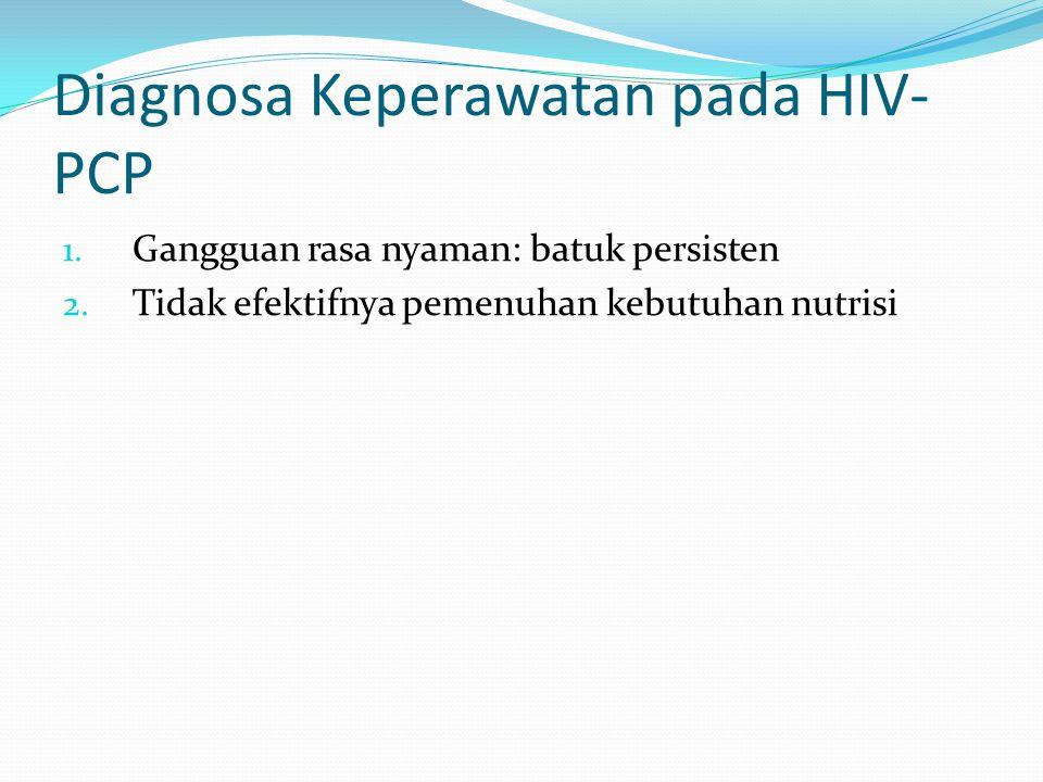 Diagnosa Keperawatan pada HIV-PCP