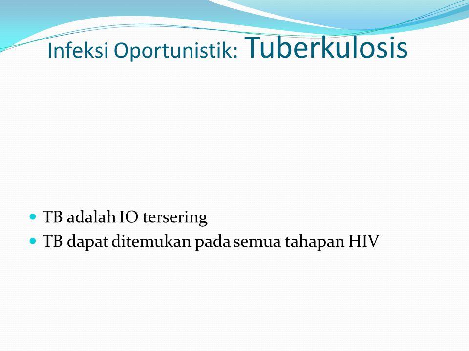 Infeksi Oportunistik: Tuberkulosis