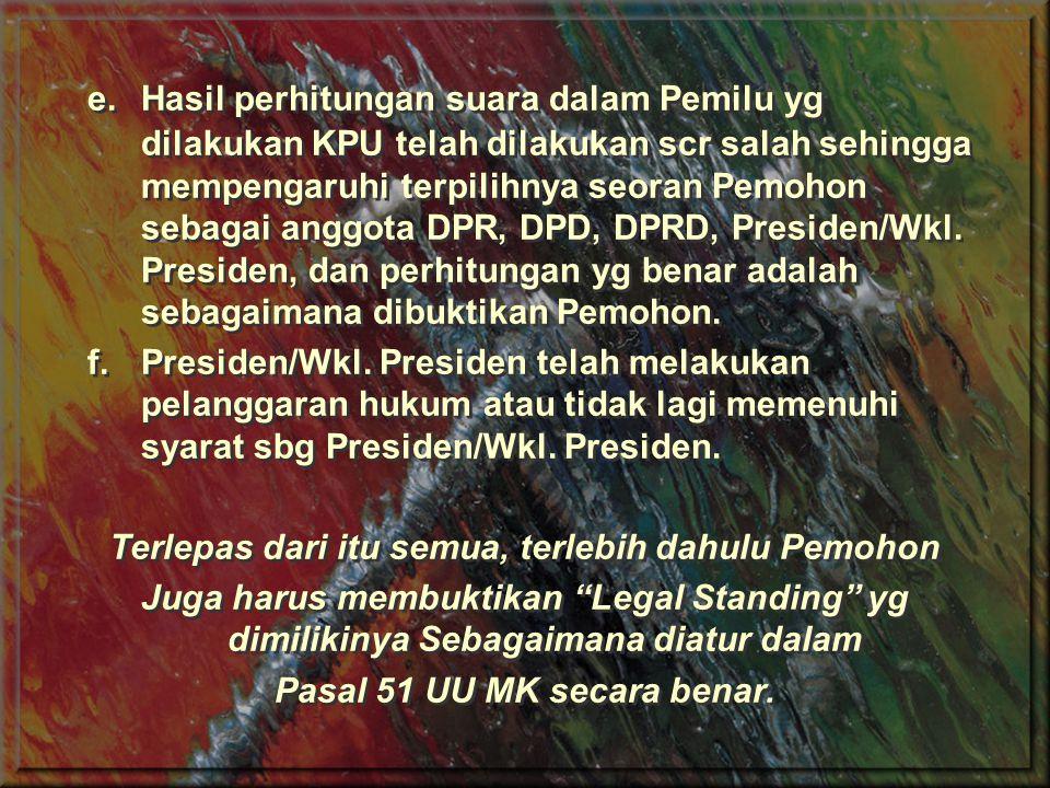 Pasal 51 UU MK secara benar.