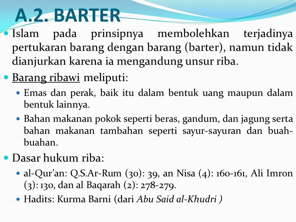 A.2. BARTER