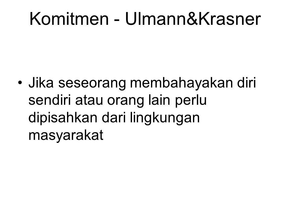 Komitmen - Ulmann&Krasner