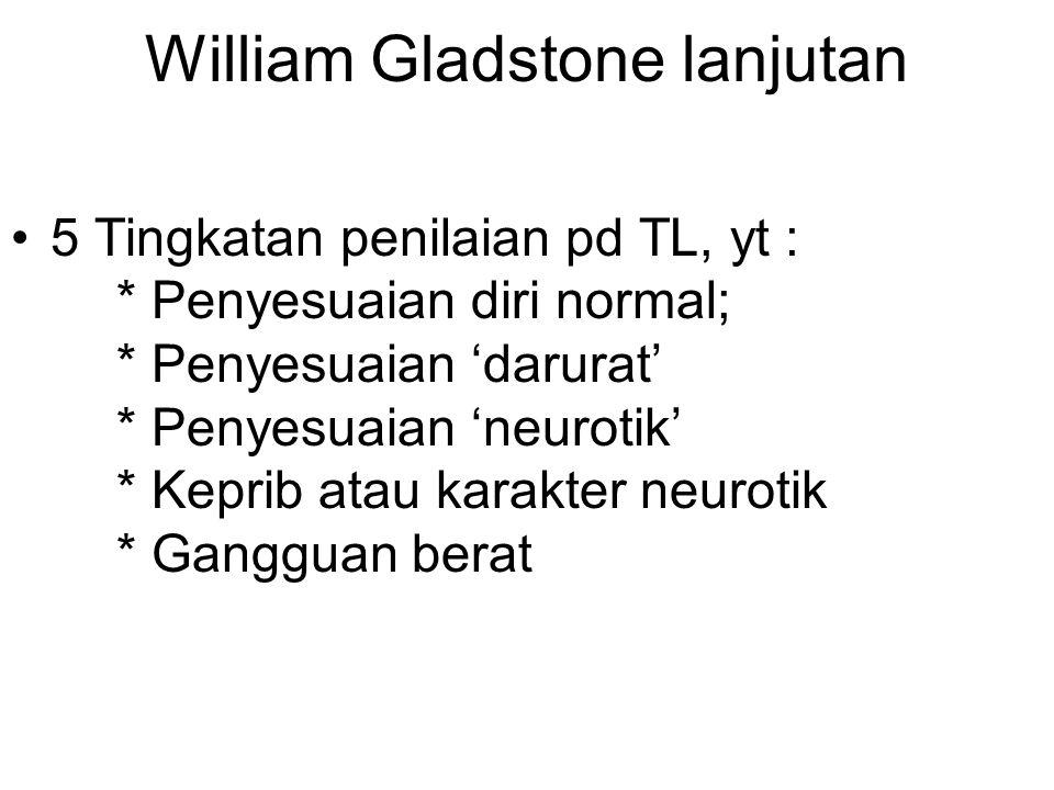 William Gladstone lanjutan