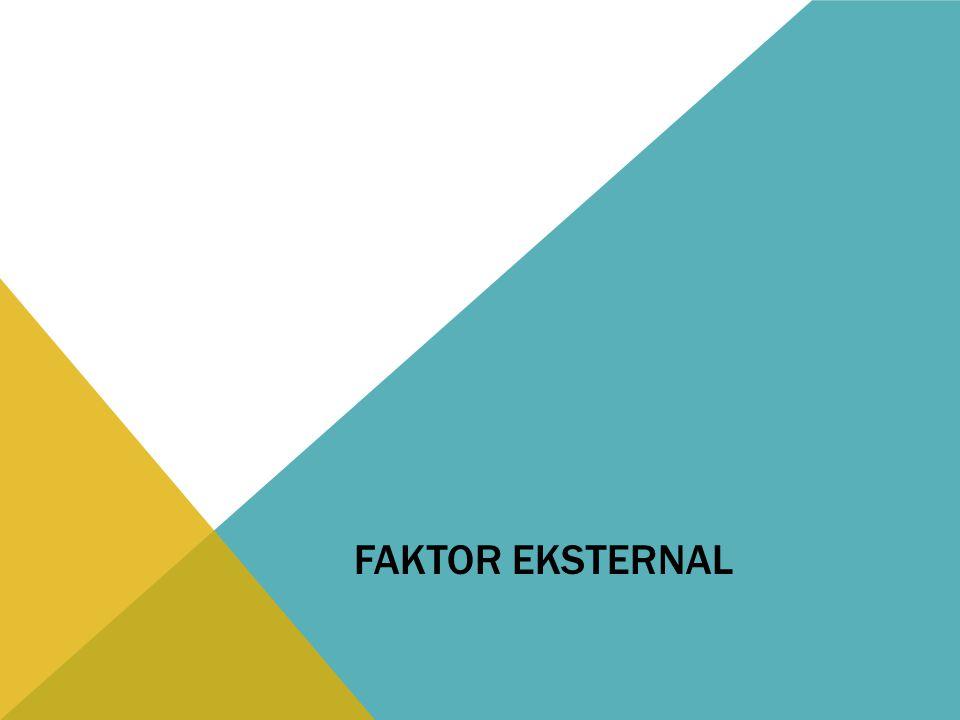 FAKTOR EKSTERNAL
