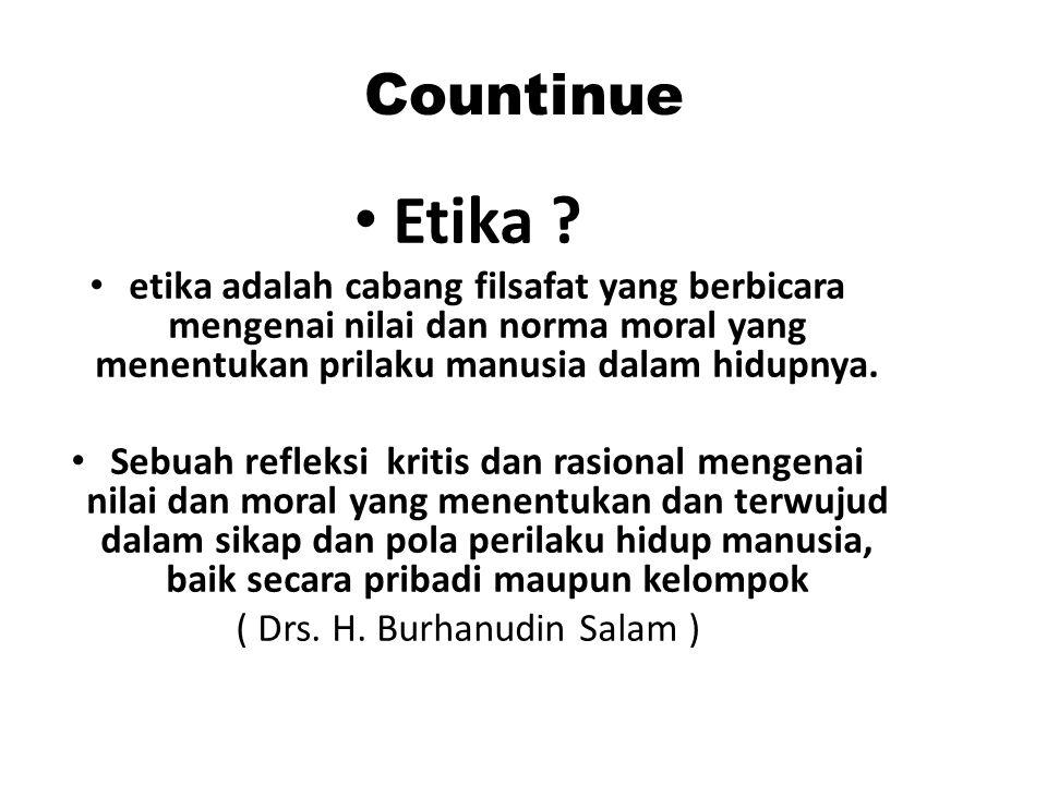 ( Drs. H. Burhanudin Salam )