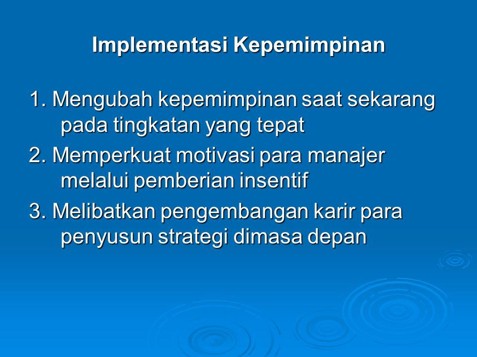 Implementasi Kepemimpinan