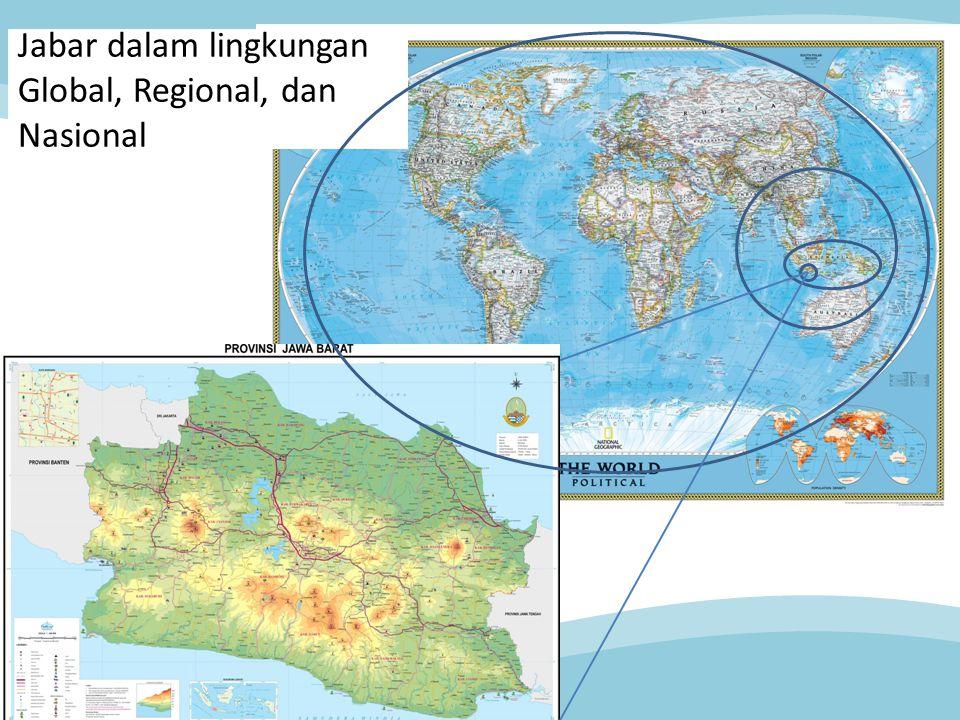 Jabar dalam lingkungan Global, Regional, dan Nasional