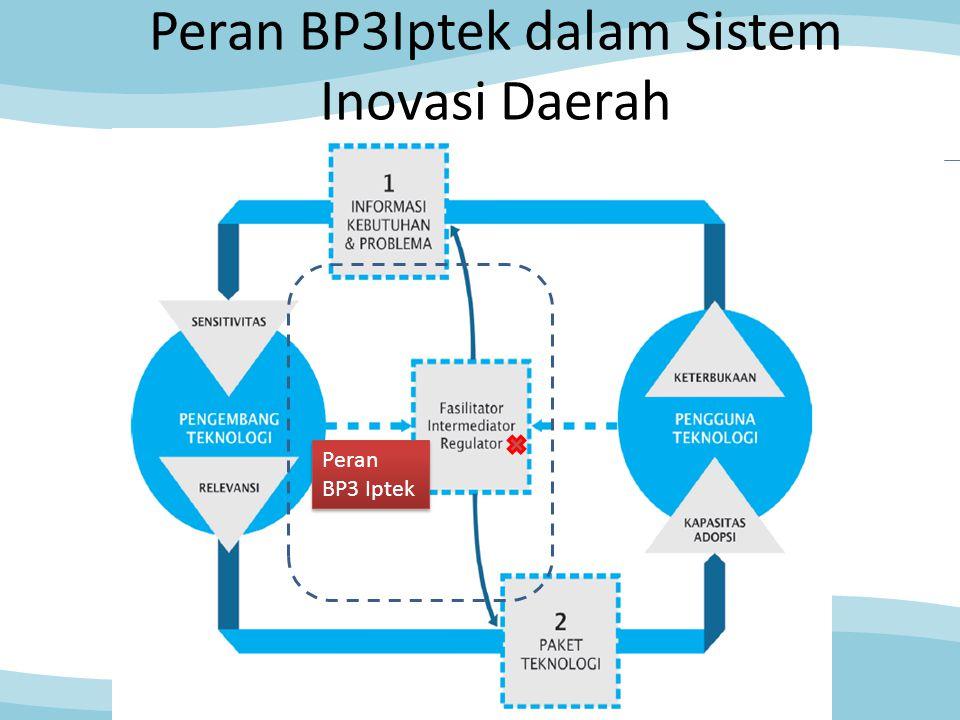 Peran BP3Iptek dalam Sistem Inovasi Daerah