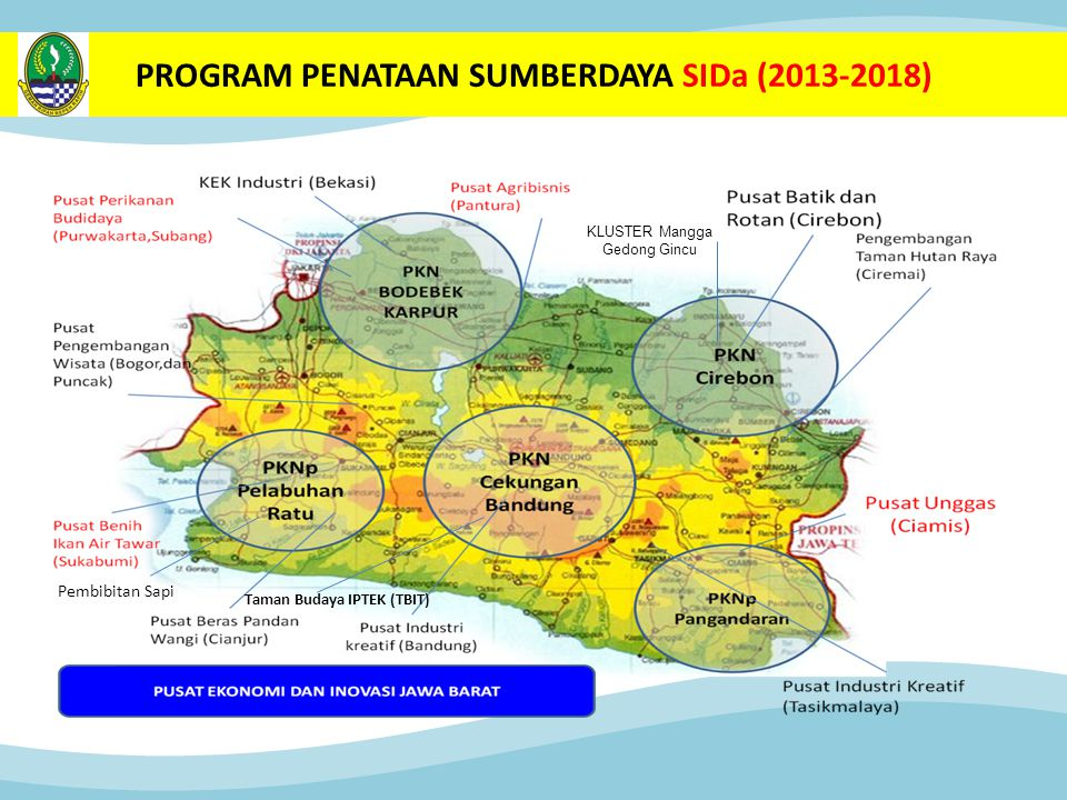 PROGRAM PENATAAN SUMBERDAYA SIDa (2013-2018)