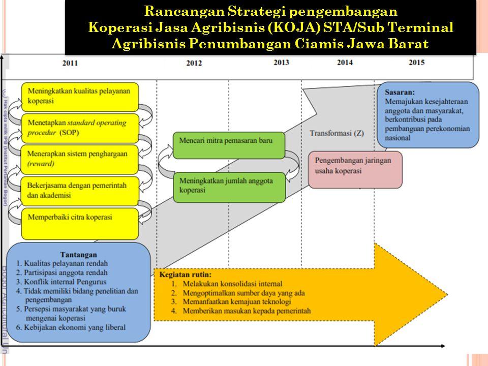 Rancangan Strategi pengembangan