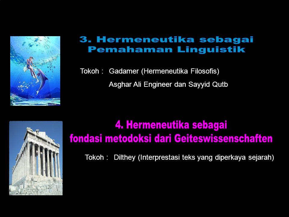 fondasi metodoksi dari Geiteswissenschaften