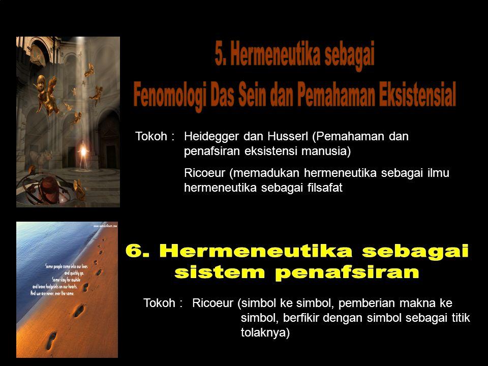 Fenomologi Das Sein dan Pemahaman Eksistensial