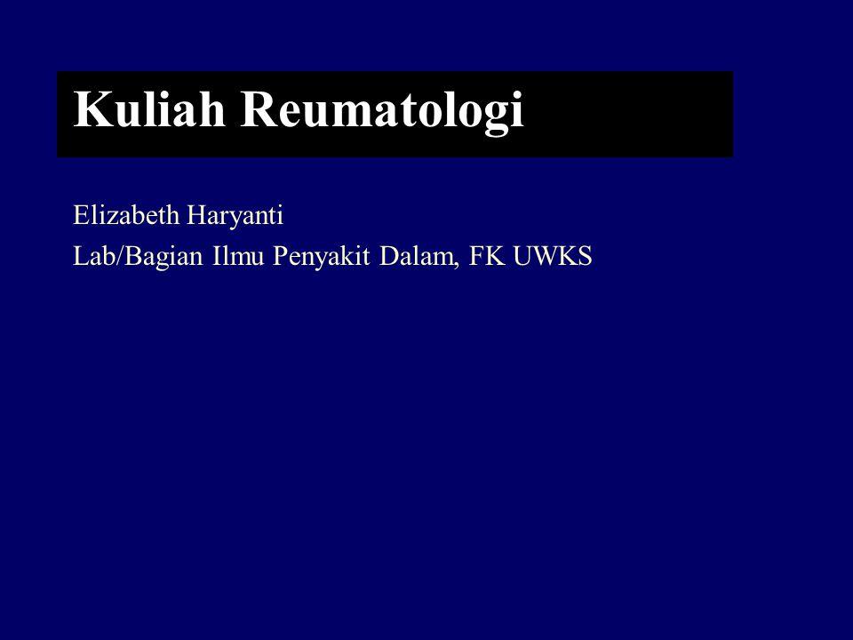 Kuliah Reumatologi Elizabeth Haryanti