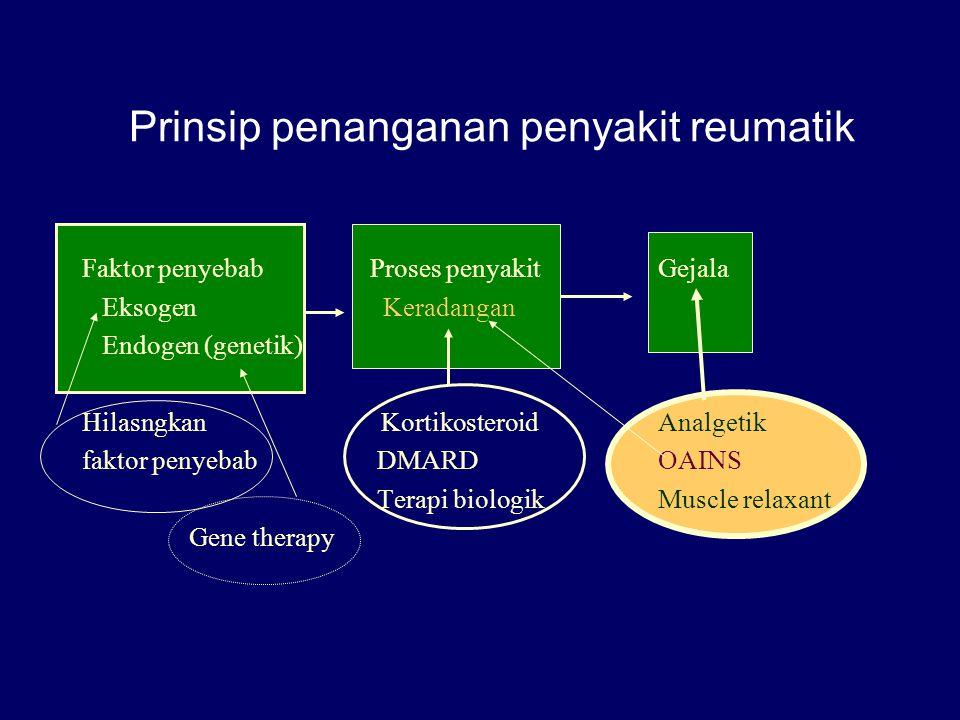 Prinsip penanganan penyakit reumatik