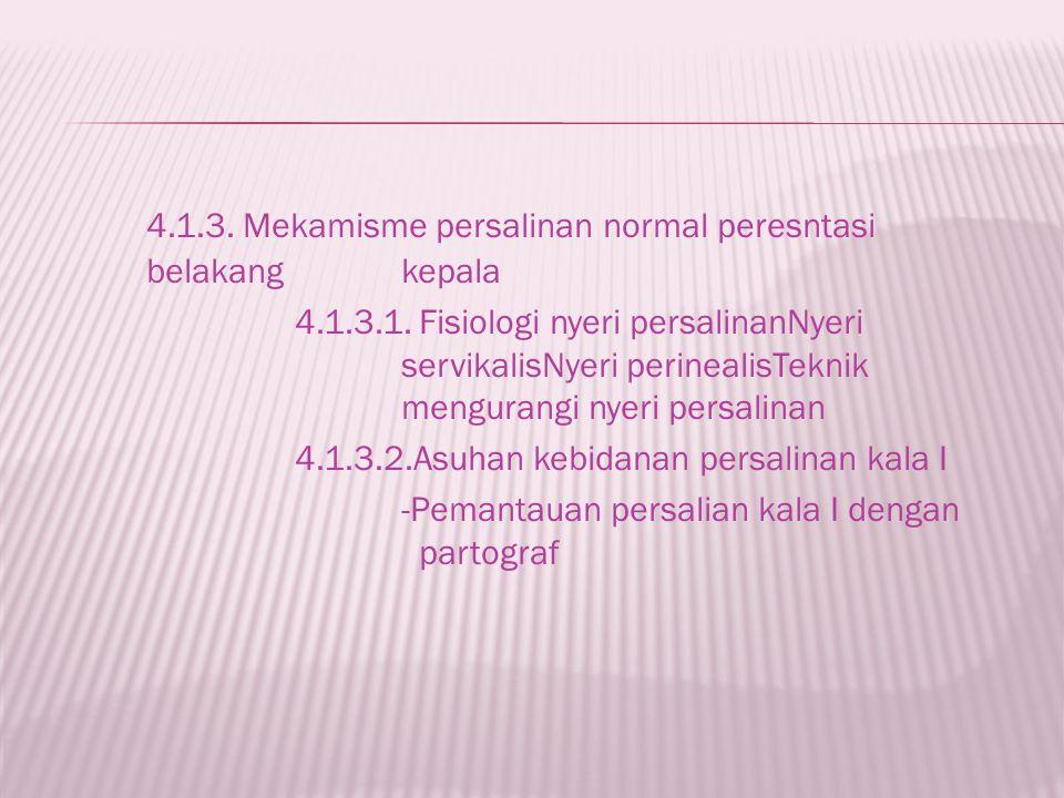 4.1.3. Mekamisme persalinan normal peresntasi belakang kepala
