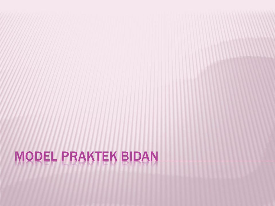 MODEL PRAKTEK BIDAN
