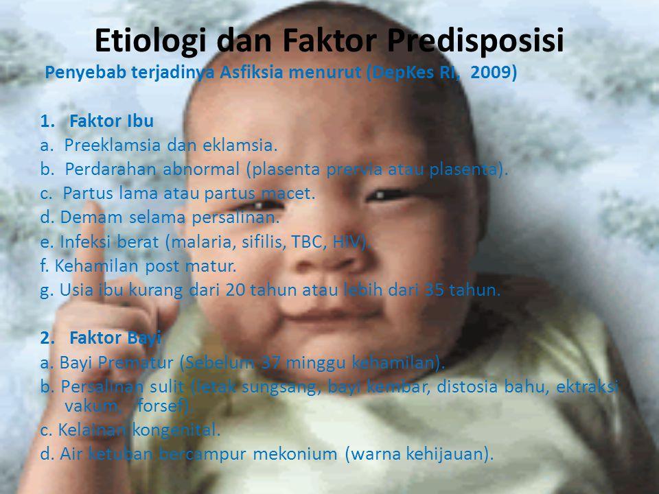 Etiologi dan Faktor Predisposisi