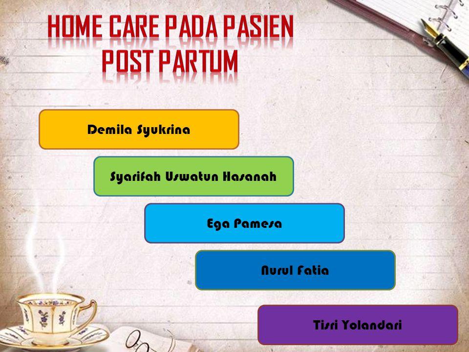Home Care Pada Pasien Post Partum