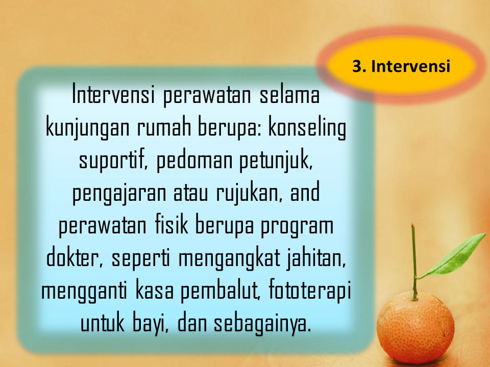 3. Intervensi