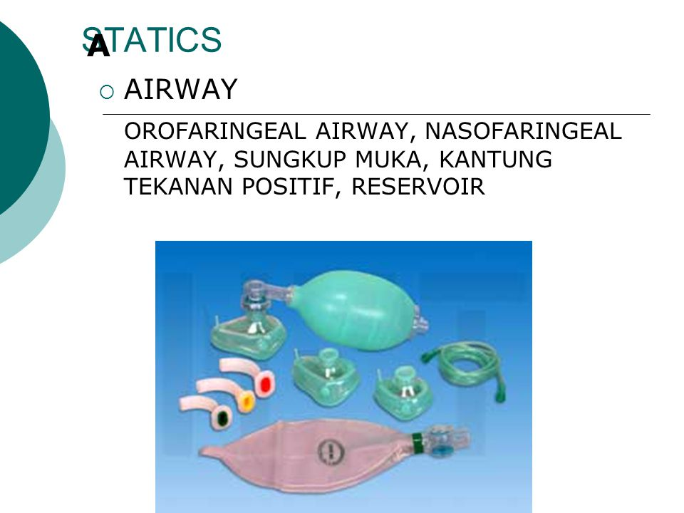 STATICS A. AIRWAY.
