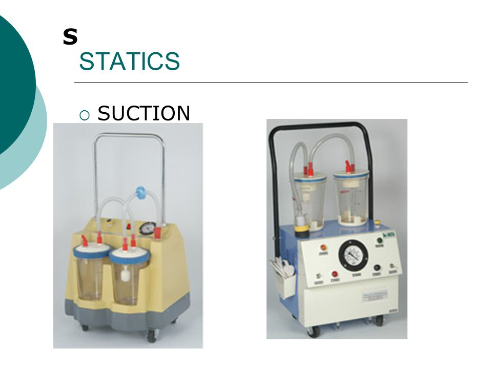 STATICS S SUCTION