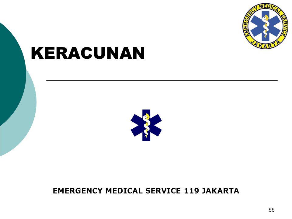 EMERGENCY MEDICAL SERVICE 119 JAKARTA