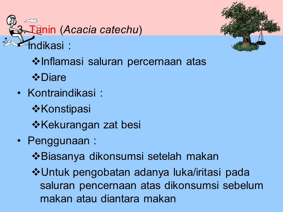 3. Tanin (Acacia catechu)