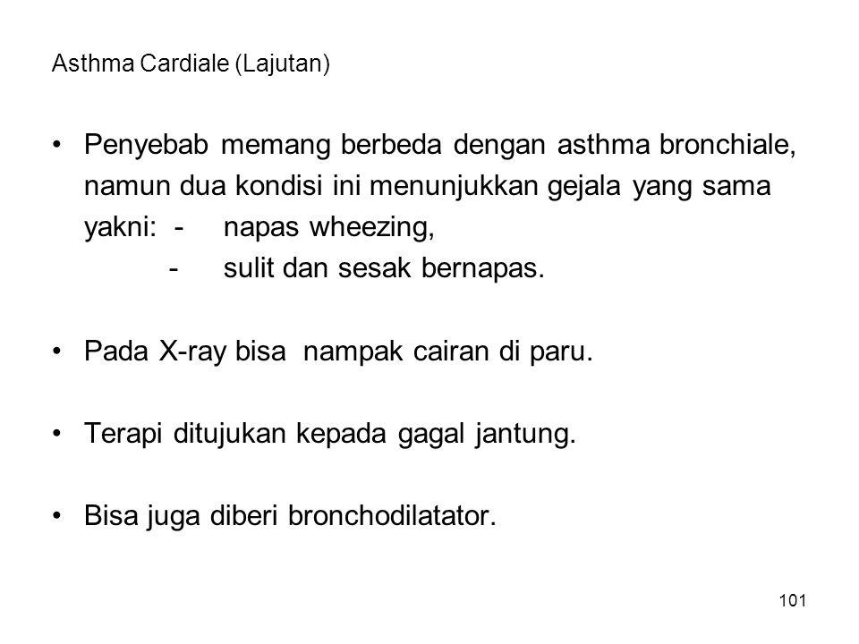 Asthma Cardiale (Lajutan)