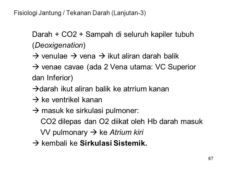 Fisiologi Jantung / Tekanan Darah (Lanjutan-3)