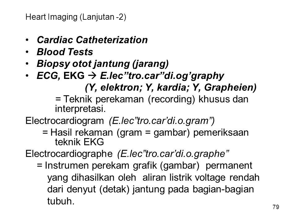 Heart Imaging (Lanjutan -2)