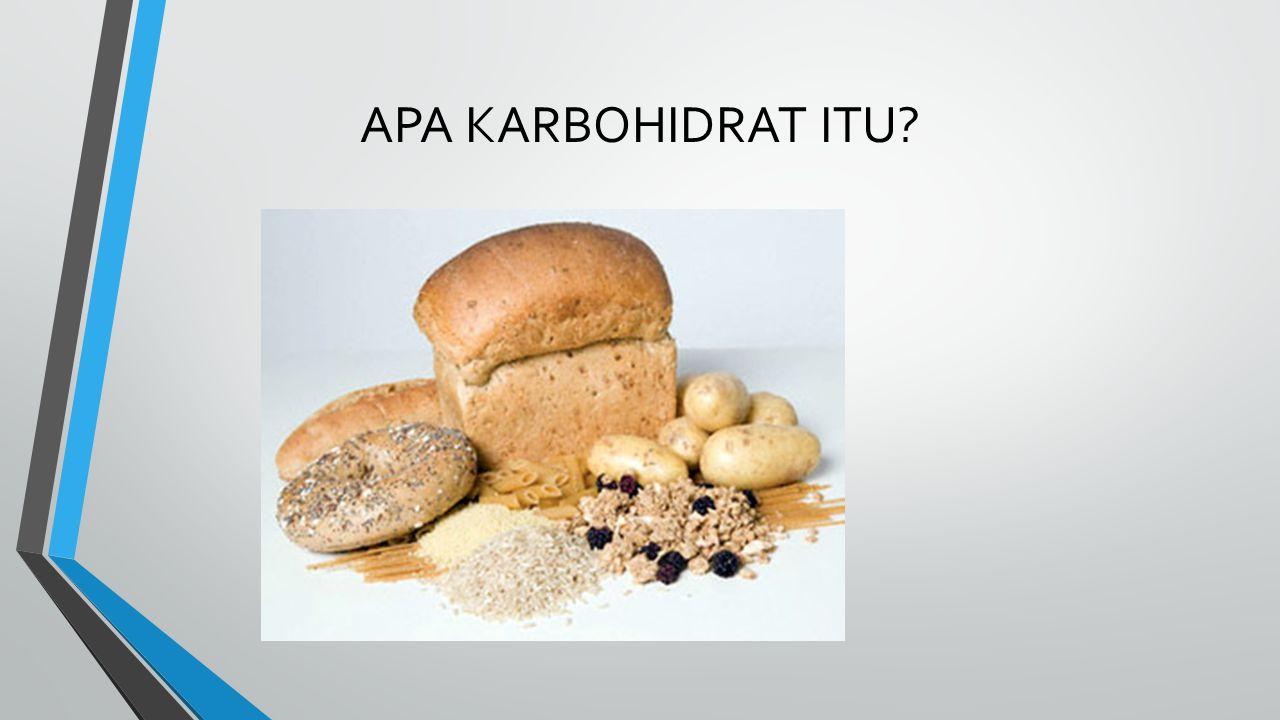 APA KARBOHIDRAT ITU