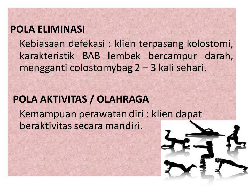 POLA AKTIVITAS / OLAHRAGA