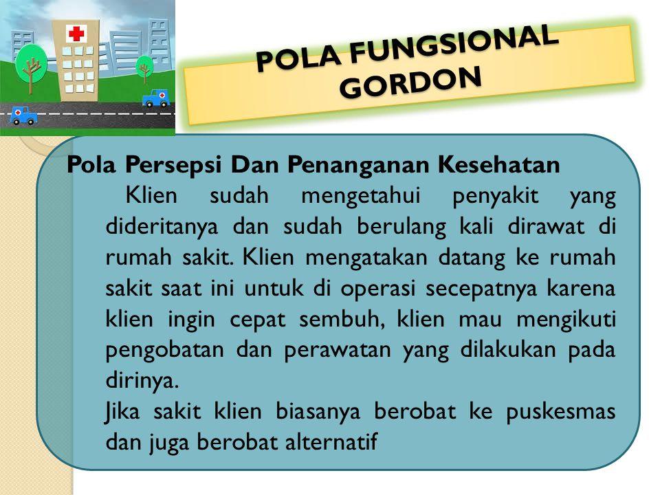 POLA FUNGSIONAL GORDON