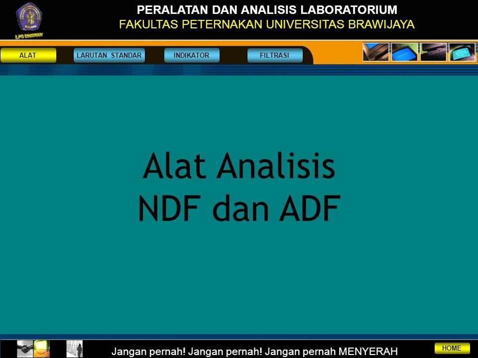 Alat Analisis NDF dan ADF