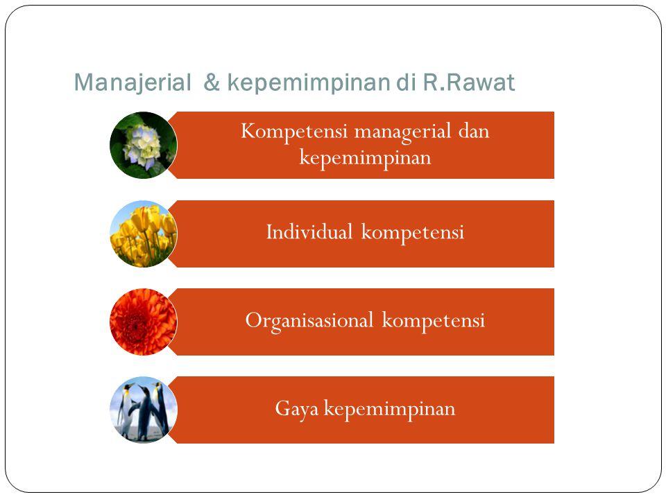 Manajerial & kepemimpinan di R.Rawat