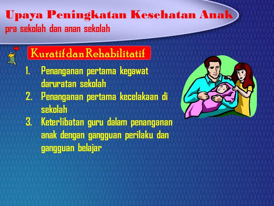 Upaya Peningkatan Kesehatan Anak