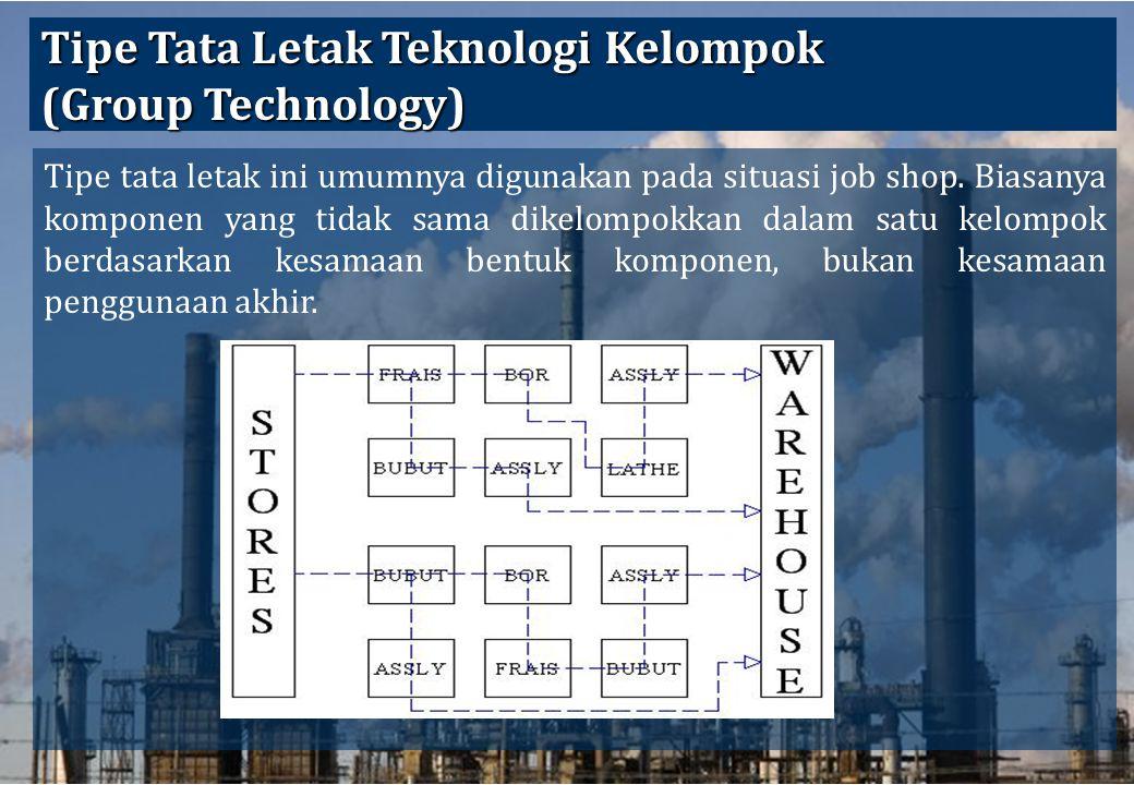 Tipe Tata Letak Teknologi Kelompok (Group Technology)