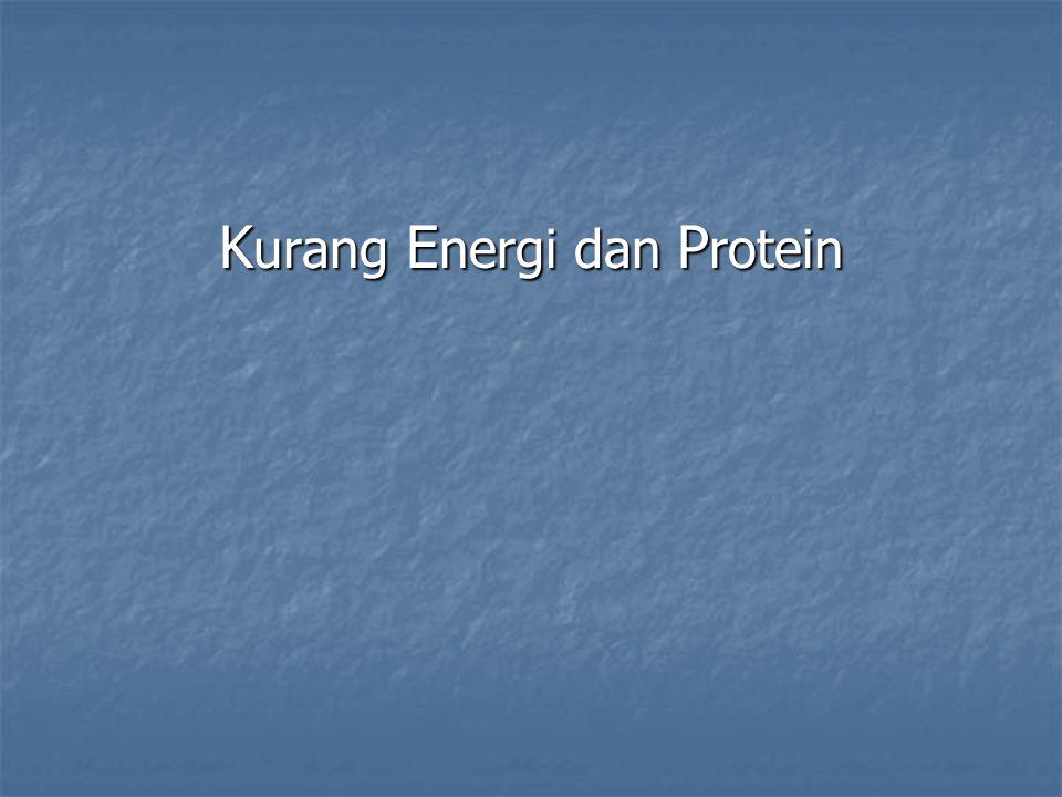 Kurang Energi dan Protein
