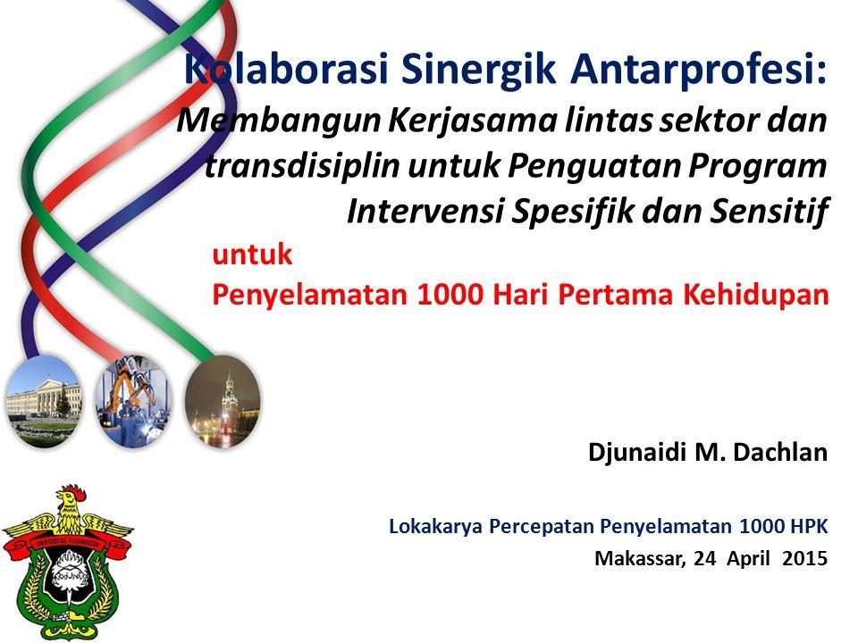 Lokakarya Percepatan Penyelamatan 1000 HPK Makassar, 24 April 2015
