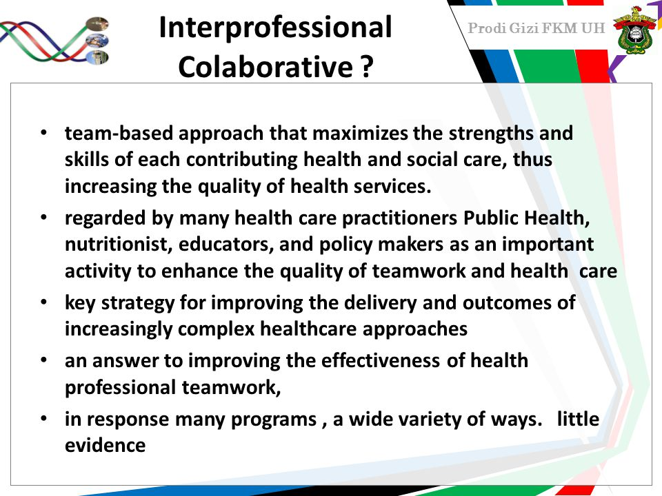 Interprofessional Colaborative