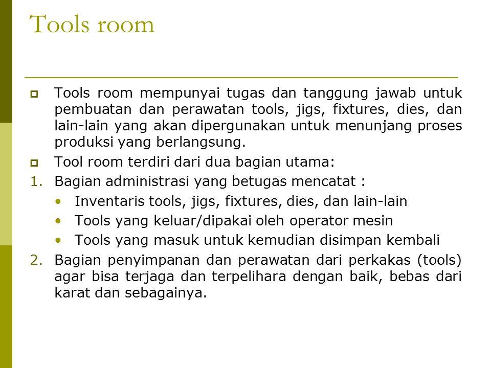 Tools room