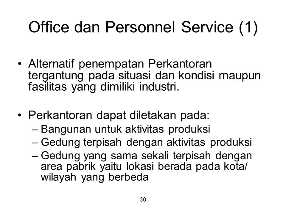 Office dan Personnel Service (1)