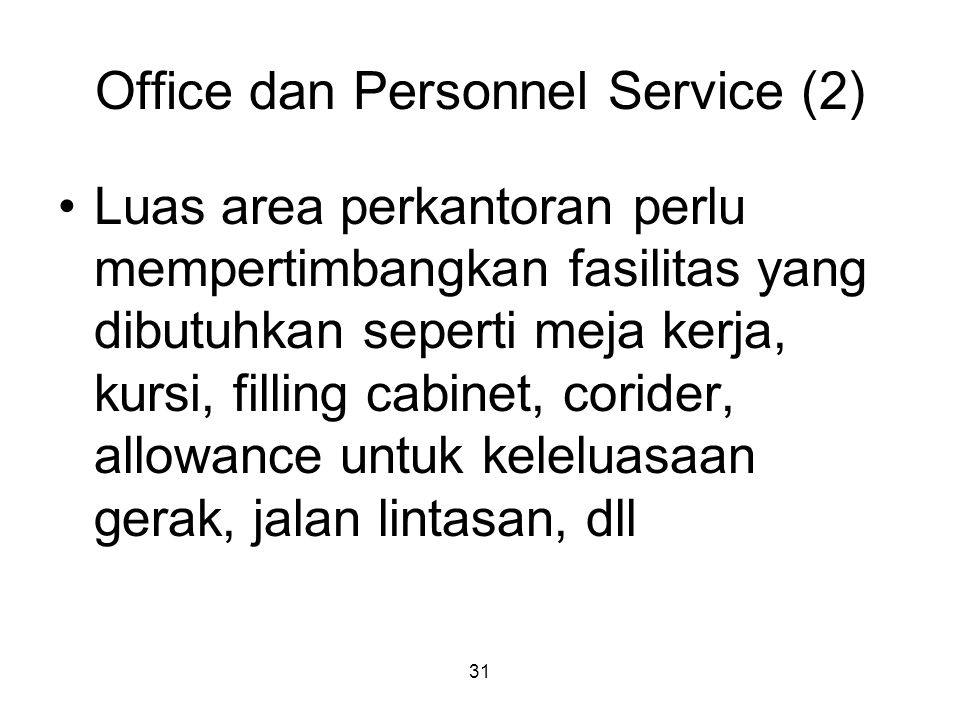 Office dan Personnel Service (2)