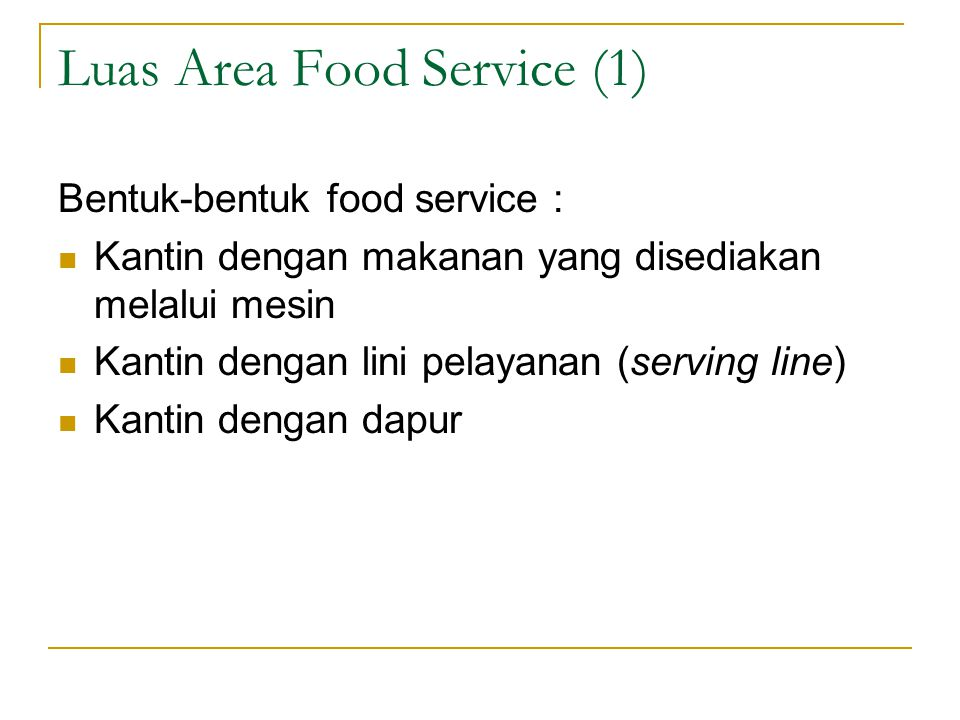 Luas Area Food Service (1)