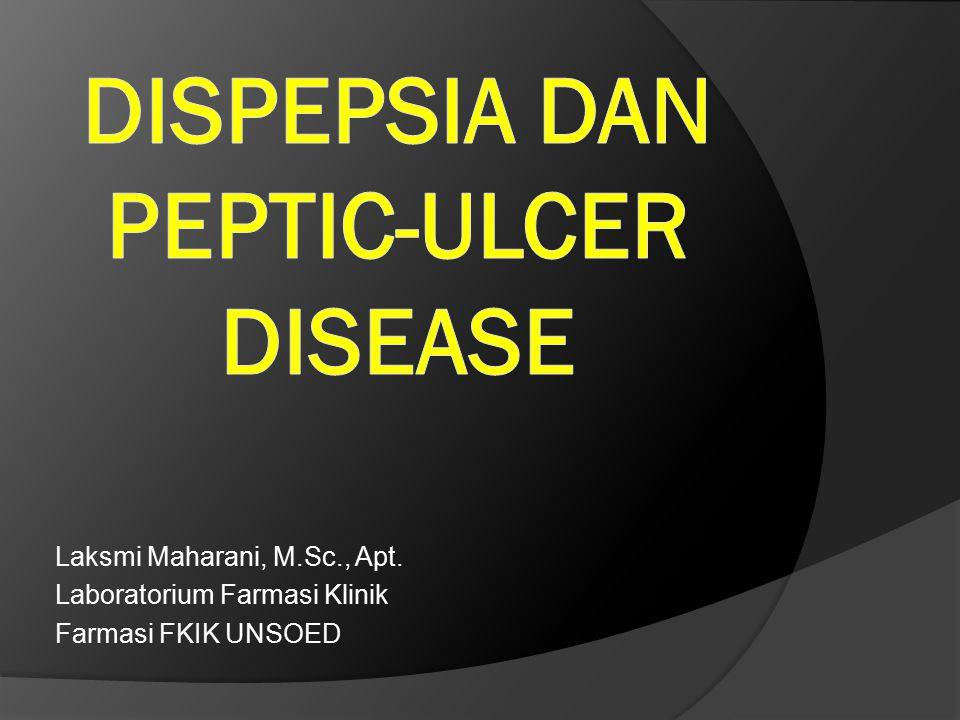 Dispepsia dan Peptic-ulcer disease