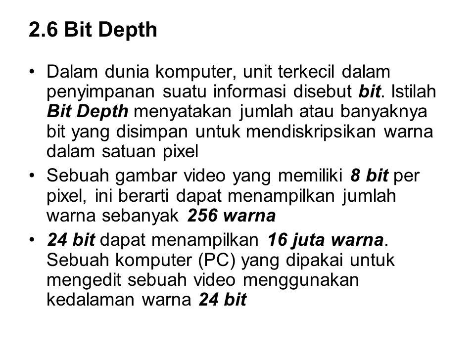 2.6 Bit Depth