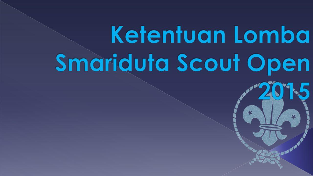 Ketentuan Lomba Smariduta Scout Open 2015