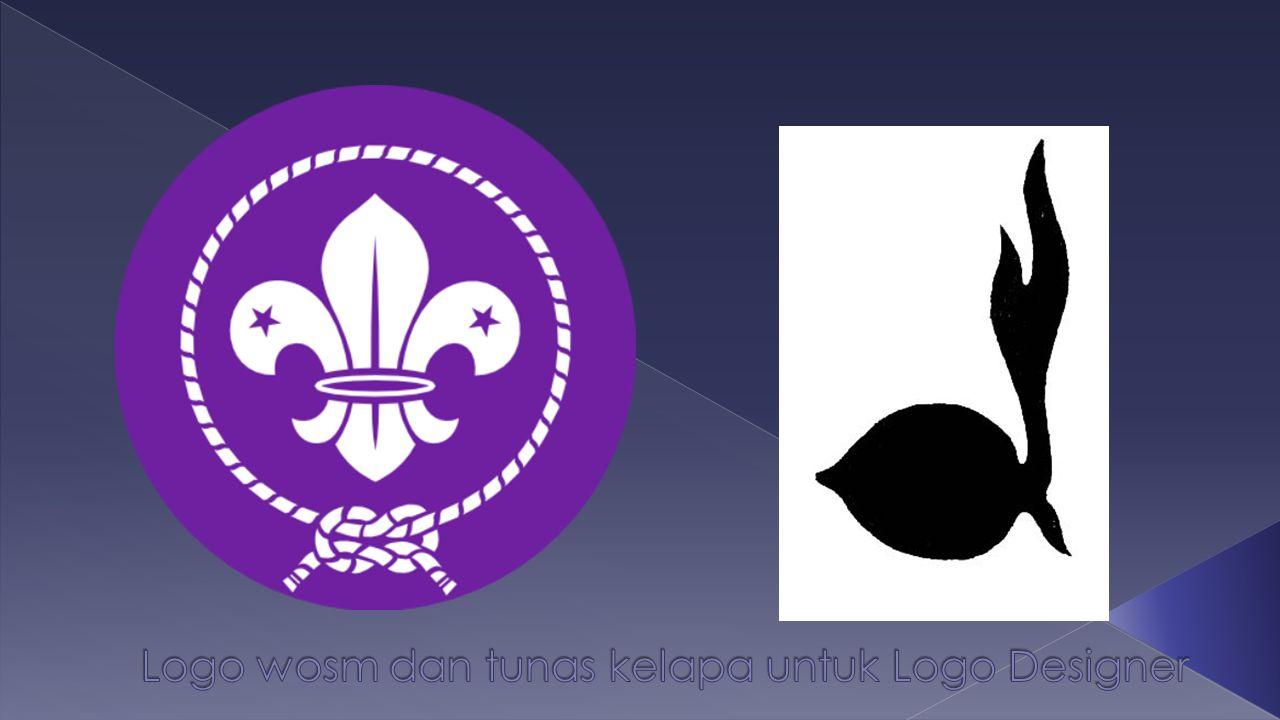 Logo wosm dan tunas kelapa untuk Logo Designer