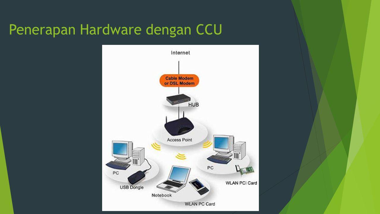 Penerapan Hardware dengan CCU